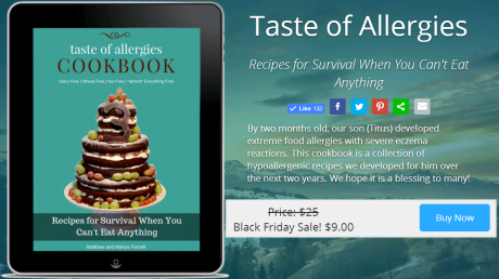 Taste of Allergies: Recipes for Survival When You Can't Eat